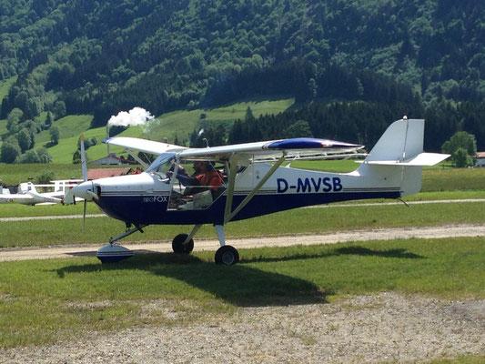 nach der Landung, Foto: Petra Christ