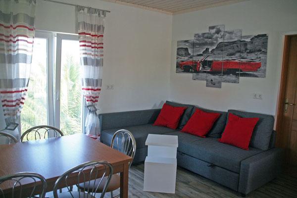 Wohn- Essbereich Wohnung 1