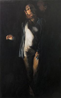 Temptation, Acryl auf Leinwand, 200 cm x 130 cm