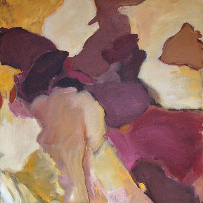 ohne titel (fleischern) - 2019 - 110 cm x 110 cm