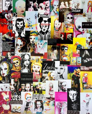 Plakat, Collage