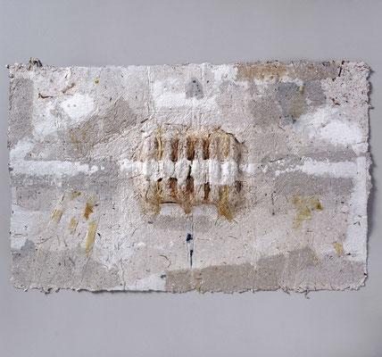 Kleines Tabernakel,  87 cm x 100 cm,  Papierrelief