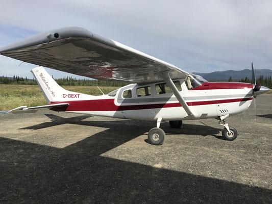 Unser Flugzeug...