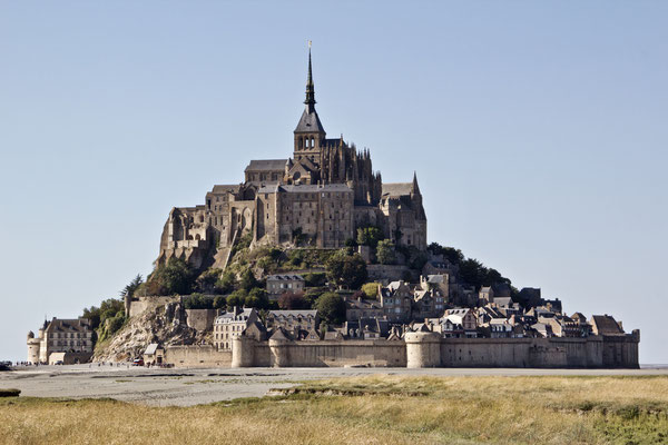 Le Mont-Saint-Michel am Tag...
