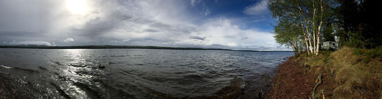 einer der vielen Seen hier im Osten von Kanada
