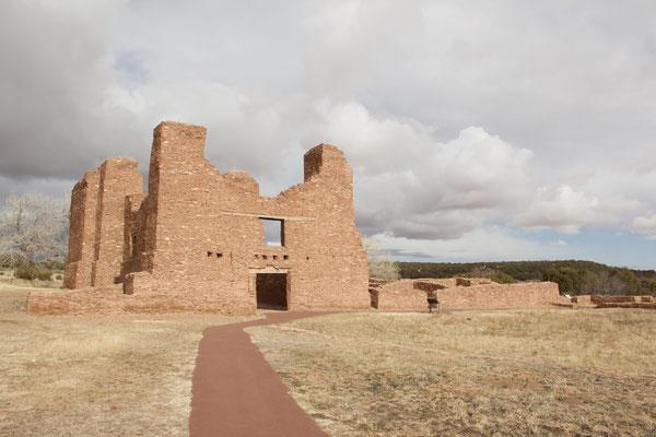 Franziskaner-Kloster im Salinas Pueblo Missions National Monument.