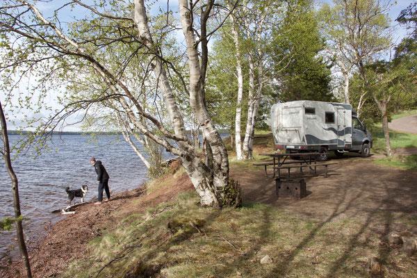 Campingplatz im Sleeping Giant Provincial Park