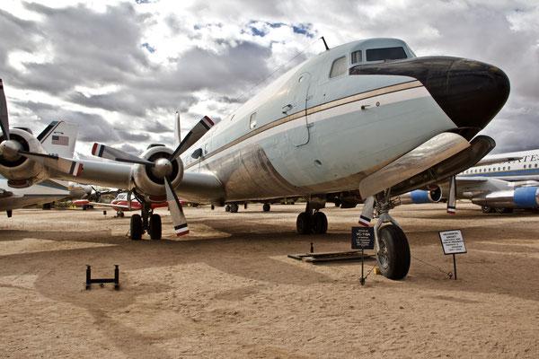 Airforce One. Benutzt von John F. Kennedy.