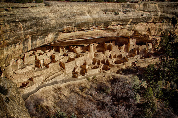 Cliff Palace im Mesa Verde Nationalpark.