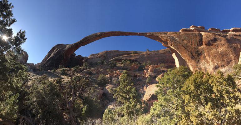 Landscape Arch im Arches Nationalpark.