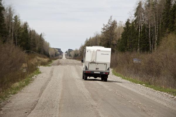 Highway 395 - den Teerbelag haben sie vergessen ;-)