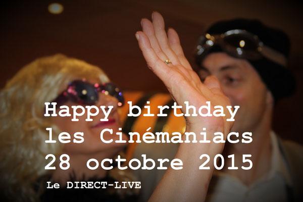 Anniversaire 10 ans Cinémaniac Jarnac octobre 2016