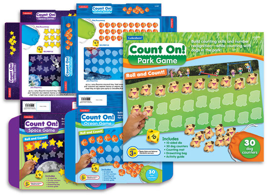 Counting Game Sets packaging variants
