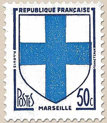 An old french stamp