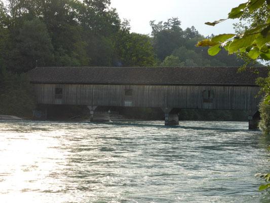 auguetbrücke über die aare, bei muri