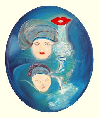 Marie et Pierre Curie , 60ovale