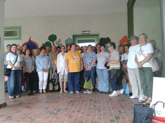 Teilnehmer der Sommerakademie Riegelsberg