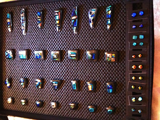 Glasfusing verschiedene Beispiele