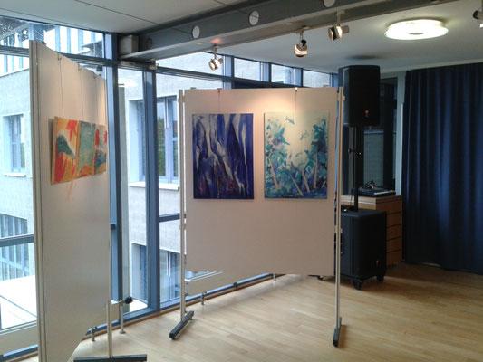 Ausstellung 2016 von Teilnehmerarbeiten der Sommerakademie Riegelsberg