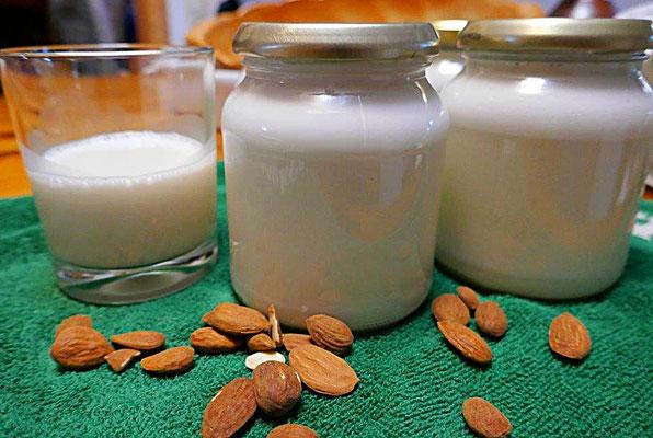 Haltbarmachen der Mandelmilch