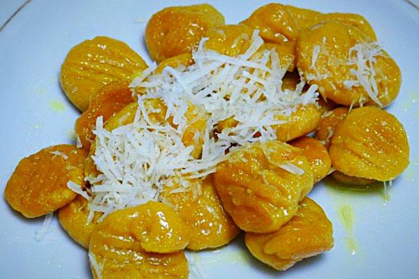 Süßkartoffel-Gnocci