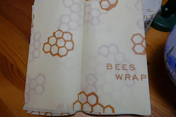 Bees Wrap als Alternative zu Frischhaltefolie