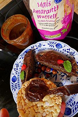 Schoko-Nuss-Aufstrich (selbstgemachtes Nutella)
