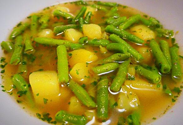 Schnelle Bohnensuppe, vegan