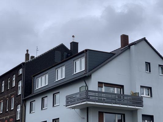 Mit dem Einbau der großen Gaube wurde viel Wohnraum geschaffen.