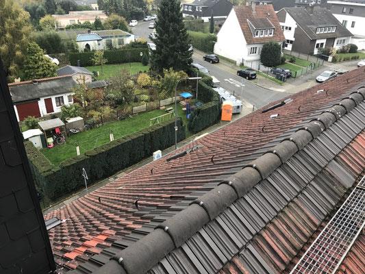 Vor dem Umbau war das Dach in die Jahre gekommen und hat seine besten Zeiten hinter sich.