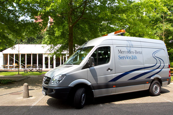 welcome-net Stuttgart, Veranstaltungsagentur, Roadshow, Fahrzeugpräsentation, Lieferfahrzeug