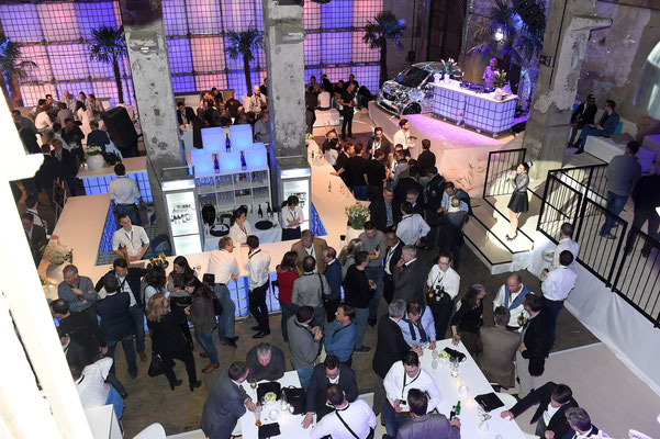 welcome-net Stuttgart, Eventagentur, Kraftwerk Rottweil, Abendveranstaltung mit 350 Gästen