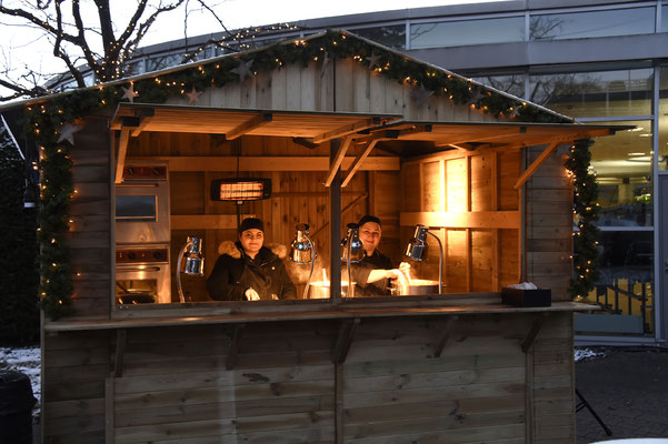 welcome-net Stuttgart, Eventagentur, Weihnachtsmarkt, Buden, Jahresabschluss im Mercedes Event Center Sindelfingen