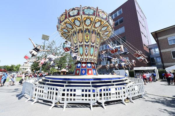 welcome-net Stuttgart, Eventmanagement, Großveranstaltung, Sindelfingen bei Stuttgart, Familienfest, Mitarbeiterfest, Kettenkarussell