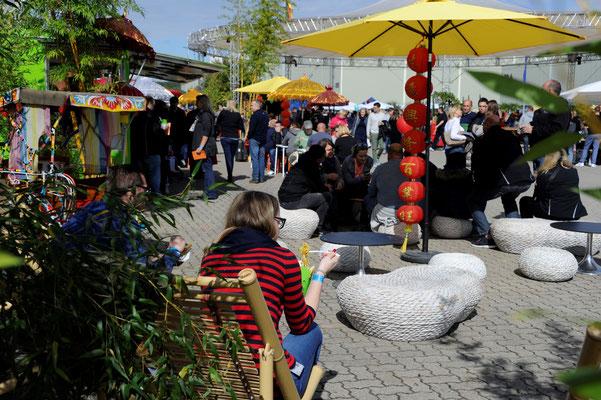 welcome-net Events Stuttgart, Sommerfest Germersheim Logistics Center, Familientag, In einem Tag um die Welt, Asiatische Garküche