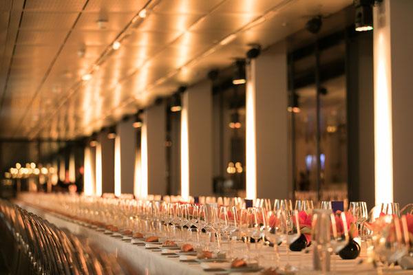 welcome-net Stuttgart, Full-Service-Agentur, lange Tafel, Dinner, Gala-Abend