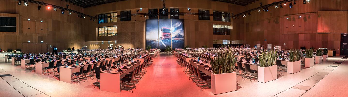 welcome-net, Event Stuttgart, Führungskräfte-Event, Dekoration Abend, RheinMain CongressCenter