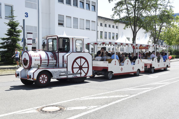 welcome-net Stuttgart, Eventmanagement, Großveranstaltung, Sindelfingen bei Stuttgart, Familienfest, Mitarbeiterfest, Bimmelbahn