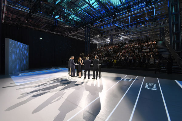 welcome-net Stuttgart, Full-Service-Agentur, Bühnenshow 25 Jahre Mercedes-Benz Werk Rastatt