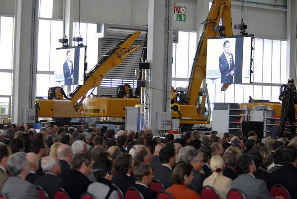 welcome-net, Eventmanagement Stuttgart, Kundenveranstaltung Liebherr