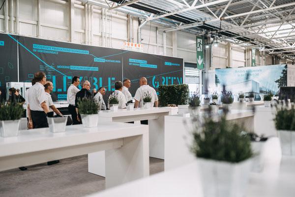 welcome-net, Full-Service-Agentur Stuttgart, Baustellen-Event, großflächige Grafikproduktionen