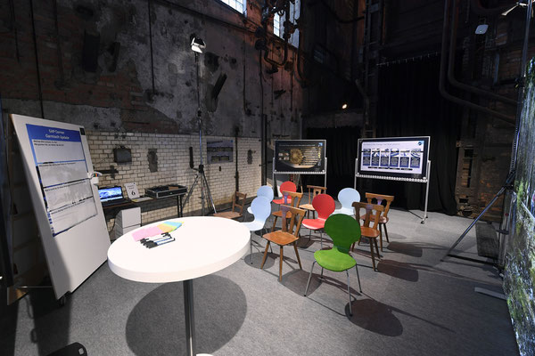 welcome-net, Eventagentur Stuttgart. Kraftwerk Rottweil, Event in Industrieruine, Set-up Break-Out