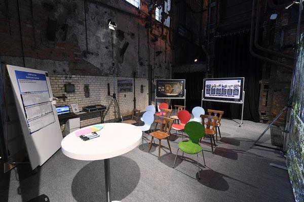 welcome-net, Eventagentur Stuttgart. Kraftwerk Rottweil, Event in Industrieruine, Set-up Break-Out