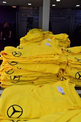 welcome-net, Event-Organisation Stuttgart, Guinness World Record, T-Shirts gebrandet