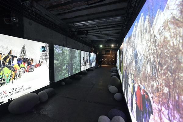 welcome-net, Eventagentur Stuttgart. Kraftwerk Rottweil, Event in Industrieruine, Medientunnel, Zeittunnel