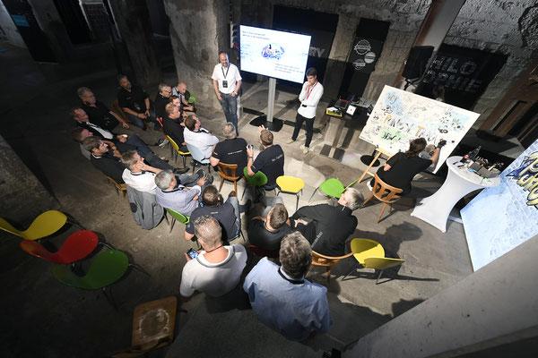 welcome-net, Eventagentur Stuttgart, Design-Thinking Workshop im Kraftwerk Rottweil