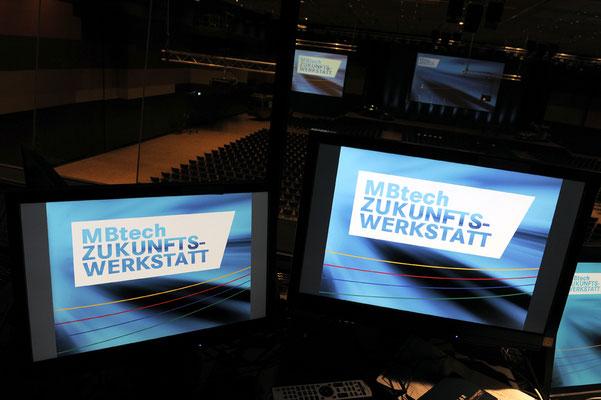 welcome-net, Event-Agentur Stuttgart, Medien-Produktion MBtech, Messe Stuttgart Flughafen
