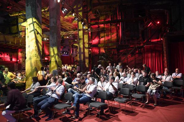 welcome-net, Eventagentur Stuttgart, Networking, Kraftwerk Rottweil, Führungskräfte-Veranstaltung, Plenum Kolossaal
