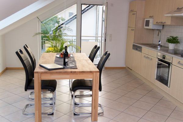 Essbereich & Küche  | Ferienwohnung Wörner | Pfaffenweiler