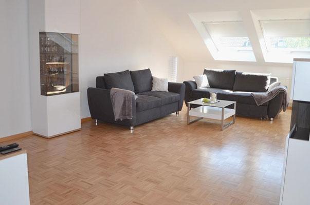 Wohnzimmer Ferienwohnung Wörner | Pfaffenweiler